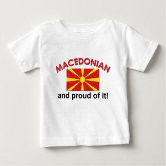 Proud Macedonian Baby T-Shirt