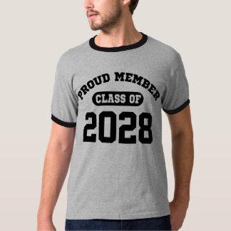 Proud Member Class Of 2028 T-shirts