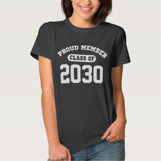 Proud Member Class Of 2030 Tee Shirts