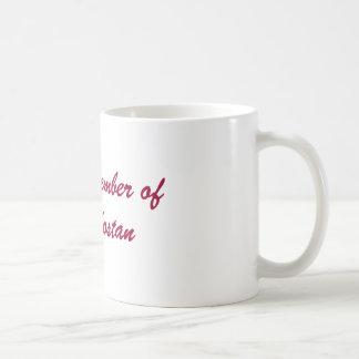 Proud Member of Kult Kostan Classic White Coffee Mug