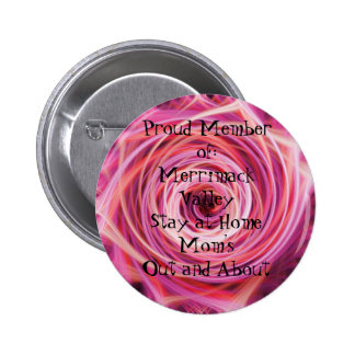 Proud Member of:Merrimack Valley Sta... 6 Cm Round Badge