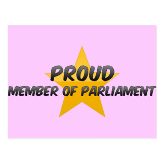 Proud Member Of Parliament Post Cards
