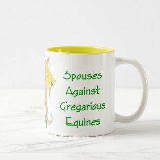 Proud Member of S.A.G.E. mug - yellow