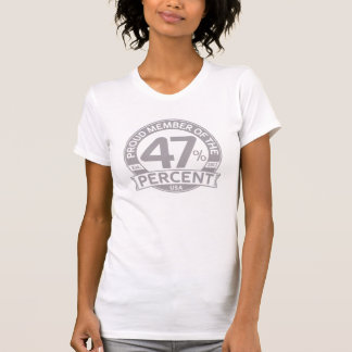 Proud Member of the 47 Percent Tee Shirts