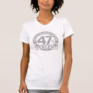 Proud Member of the 47 Percent Tee Shirts