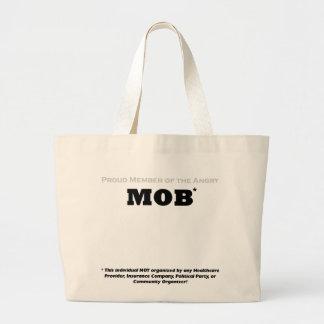 Proud Member of the Angry Mob Jumbo Tote Bag