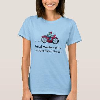 Proud Member of the Female Riders Forum T-Shirt