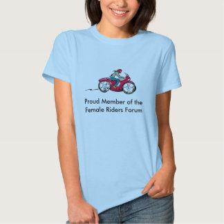 Proud Member of the Female Riders Forum Tee Shirt