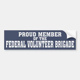 Proud Member of the FVB Car Bumper Sticker