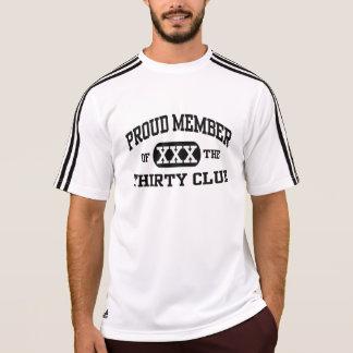 PROUD member of the THIRTY club VARSITY Birthday T Shirt