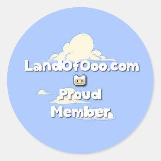 Proud Member Sticker