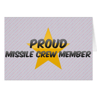 Proud Missile Crew Member Cards