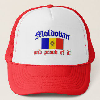 Proud Moldovan Trucker Hat