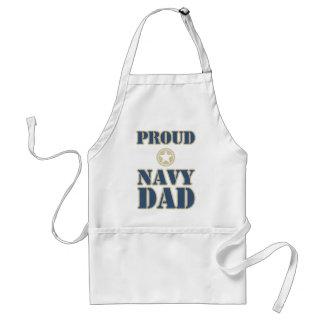 Proud Navy Dad Standard Apron