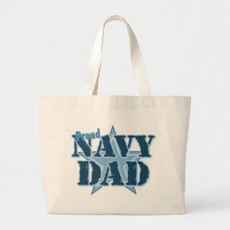 Proud Navy Dad Bag