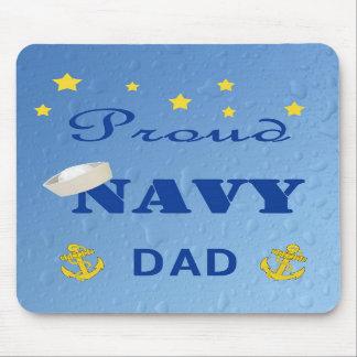 Proud Navy Dad Mousepad