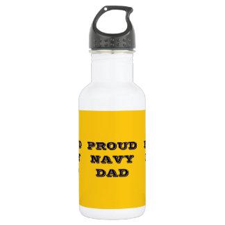 Proud Navy Dad 532 Ml Water Bottle