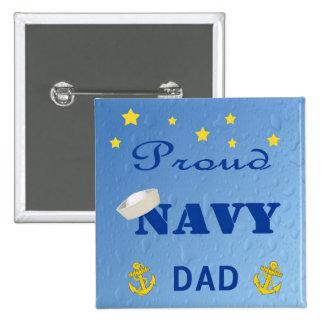 Proud Navy Dad Pin