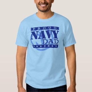 Proud Navy Dad T-shirts