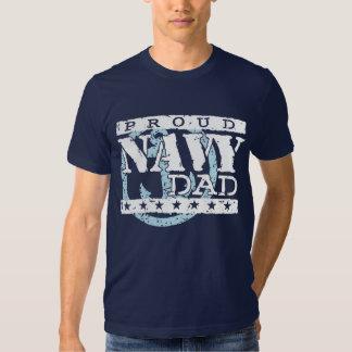 Proud Navy Dad Tees