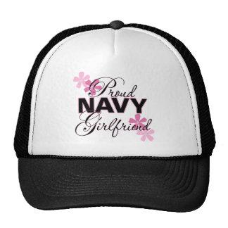 Proud Navy Girlfriend Trucker Hat
