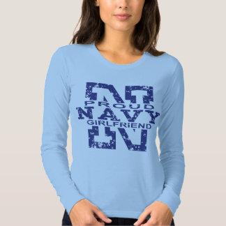 Proud Navy Girlfriend Tee Shirt