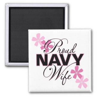 Proud Navy Wife Magnet