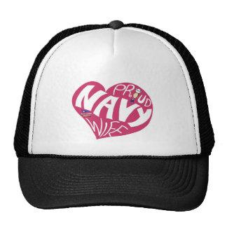 Proud NAVY Wife - Maroon Hat