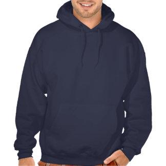 Proud navy wife - Rosey Hooded Sweatshirt