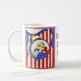 proud Navy wife vintage print design Coffee Mug