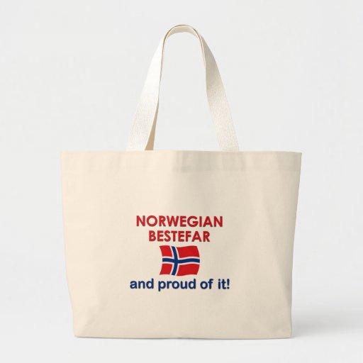Proud Norwegian Bestefar (grandfather) Bag