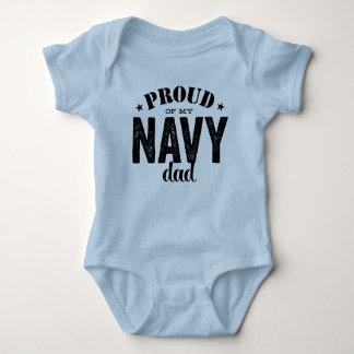 Proud of my Navy Dad Baby Bodysuit
