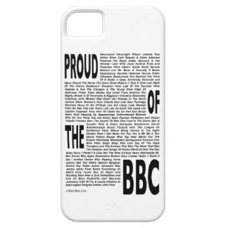 Proud of the BBC, iPhone 5 Case white