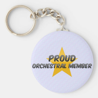 Proud Orchestral Member Key Chain