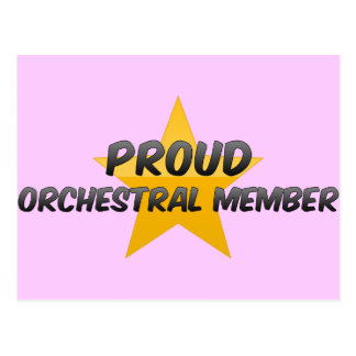 Proud Orchestral Member Post Card