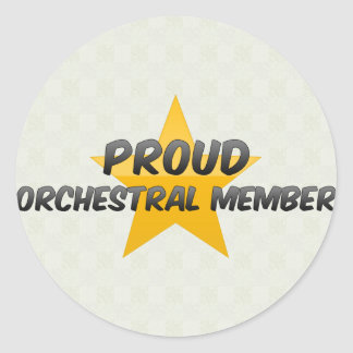 Proud Orchestral Member Stickers