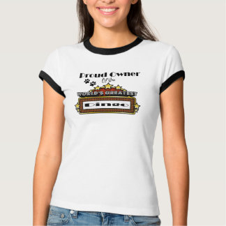 Proud Owner World's Greatest Dingo T-Shirt