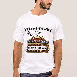 Proud Owner World's Greatest Swedish Vallhund T-Shirt