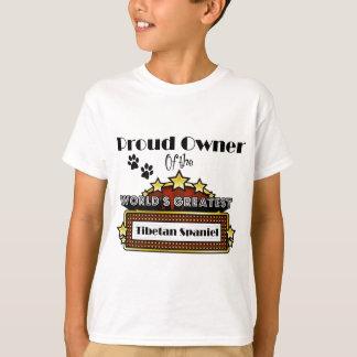 Proud Owner World's Greatest Tibetan Spaniel T-Shirt