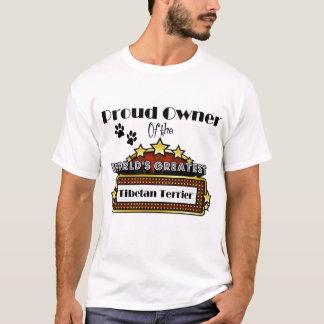 Proud Owner World's Greatest Tibetan Terrier T-Shirt
