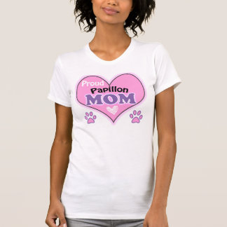 Proud Papillon Mom T-Shirt