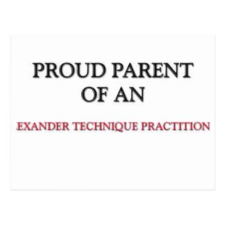 Proud Parent OF AN ALEXANDER TECHNIQUE PRACTITIONE Post Card