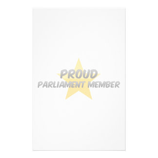 Proud Parliament Member Customized Stationery