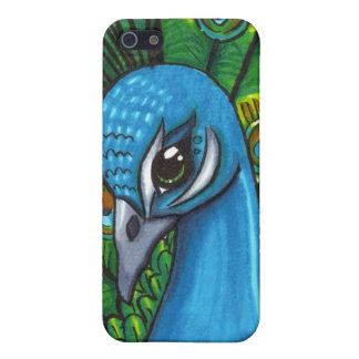 Proud Peafowl illustration iPhone 5 Case