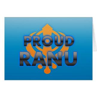 Proud Ranu, Ranu pride Greeting Cards