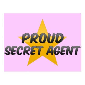 Proud Secret Agent Postcard