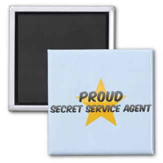 Proud Secret Service Agent Fridge Magnets