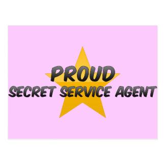 Proud Secret Service Agent Postcard