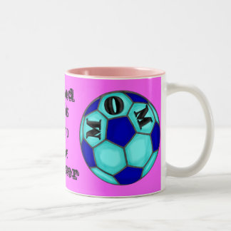 Proud Soccer Mom Ceramic Mug