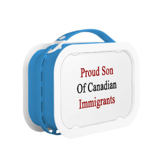 Proud Son Of Canadian Immigrants Lunch Box